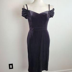 Laundry velvet dress